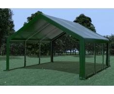 Stabilezelte Partyzelt Pavillon 5x6m Modular Pro PVC wasserdicht grün