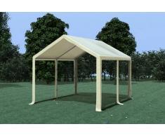 Stabilezelte Partyzelt Pavillon 3x4m Modular Pro PVC wasserdicht beige