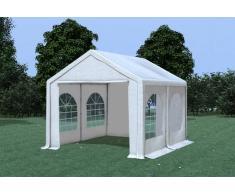 Stabilezelte Partyzelt Pavillon 3x4m Modular Pro PVC wasserdicht weiß