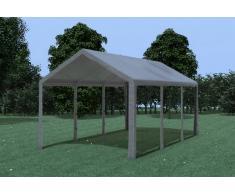 Stabilezelte Partyzelt Pavillon 3x6m Modular Pro PE wasserdicht grau