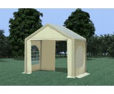 Stabilezelte Partyzelt Pavillon 3x2m Modular Pro PVC wasserdicht braun / beige