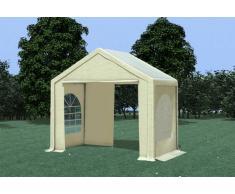 Stabilezelte Partyzelt Pavillon 3x2m Modular Pro PVC wasserdicht beige