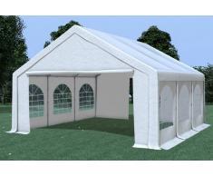 Stabilezelte Partyzelt Pavillon 5x6m Modular Pro PVC wasserdicht weiß