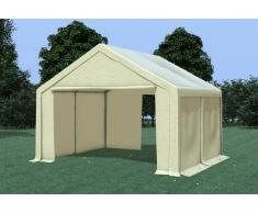 Stabilezelte Partyzelt Pavillon 4x4m Modular Pro PVC wasserdicht beige