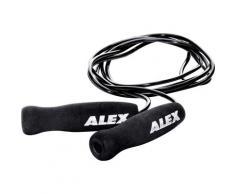 ALEX Springseil in schwarz, Größe Einheitsgröße