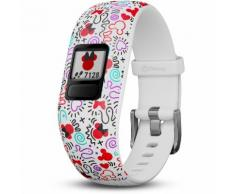 Garmin Vivofit Junior 2 Fitness Tracker Kinder in white, Größe S