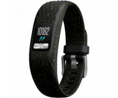 Garmin Vivofit 4 Fitness Tracker in black speckle, Größe S/M