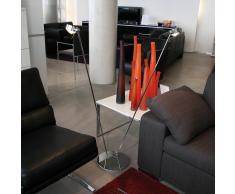 Top Light Puk Floor Sister Stehleuchte, LED, chrom / schwarz