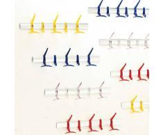 Kartell Hanger Wandgarderobe , große Ausführung, transparent