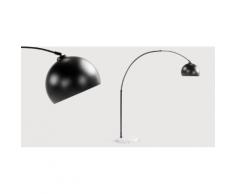 Bow Bogenlampe, Mattschwarz und Marmor