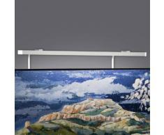 Milan Gil Bilderleuchte, Breite: 42,9 cm, weiß