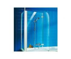 schulte badewannenaufsatz »2-teilig« 1145 x 140 x 80 cm
