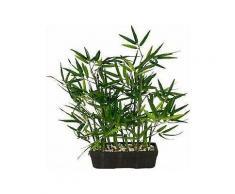 kunstpflanze »bambus« in schale