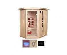 home deluxe infrarotkabine »redsun xl« bxtxh: 155x120x190 cm für bis zu 3 personen