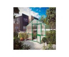 kgt gewächshaus »lilie iii« bxtxh: 297x323x268 cm grün inkl. regenrinne