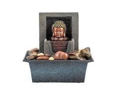 home affaire zimmerbrunnen buddha »lotus«
