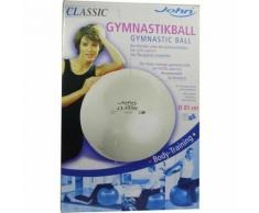 Gymnastikball 85 cm silber 1 St.