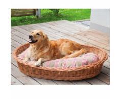 Aumüller Hundekorb aus gesottener Weide 60x45x15cm