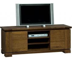 Easy Möbel TV-Schrank Pera Eiche natur 08, teilmassiv - Abmessungen: 150 x 58 x 53 cm (B x
