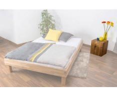 Easy Möbel Nachttisch Wooden Nature 34 Wildeiche bio geölt, teilmassiv - Abmessung 38 x 44