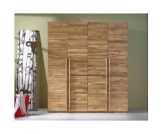 Massivholz Kleiderschrank Choice A 3-türig Buche natur