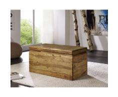 3S Frankenmöbel Massivholz Truhe New York B 80 x H 40 x T 40 cm
