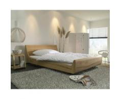 Dormiente Massivholz-Bett Mola Nussbaum 160x200 cm