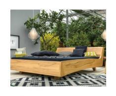 Dormiente Massivholz-Bett Balena Nussbaum 200x200 cm