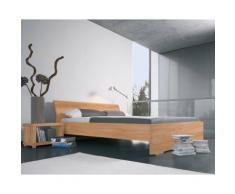 Dormiente Massivholz-Bett Adana Nussbaum 140x200 cm
