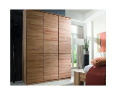 Massivholz Kleiderschrank Standard Front 6 2-türig / Buche natur