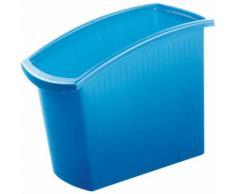 Papierkorb Mondo FIT-Z, blau