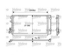 Kondensator, Klimaanlage | Valeo, Breite: 652 mm, Gewicht: 2,81 kg ,Höhe: 350 mm
