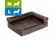 Wellness Hundesofa Divan antik - L 85 x B 65 x H 30 cm