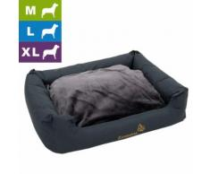 Hundebett Sleepy Time grey - L 100 x B 75 x H 30 cm