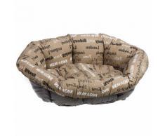 Set Größe 6 Ferplast Hundekorb Siesta Deluxe weiß mit Überzug Sofà - Cities Hund