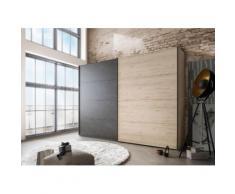 Schwebetürenschrank »Brüssel«, Höhe 220 cm, Breite 250cm, 2-türig, WIEMANN
