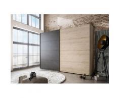 Schwebetürenschrank »Brüssel«, Höhe 220 cm, Breite 300cm, 2-türig, WIEMANN