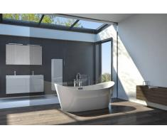 Bad11 Freistehende Badewanne BELLA weiß Sanitäracryl 170 cm