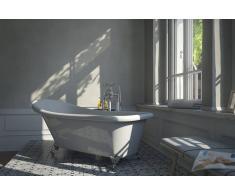 Bad11 Freistehende Badewanne EMILIA weiß Sanitäracryl 170 cm