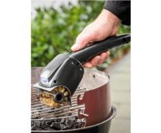 Elektrischer Grillrost-Reiniger mit rotierender Bürste Maximex schwarz