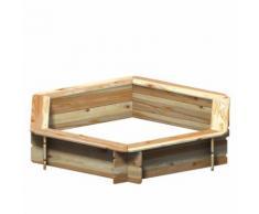 WINNETOO Sandkasten BEO 6-Eck Sandbox