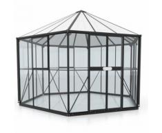 Vitavia Gewächshaus Pavillons Juno Tomatenhaus, 3,83x3,36x2,84 m, Weiss
