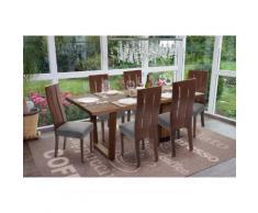 6x Esszimmerstuhl HWC-G63, Küchenstuhl Lehnstuhl Stuhl, Stoff/Textil Massiv-Holz ~ Variantenangebot