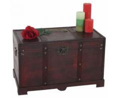 Holztruhe Holzbox Schatztruhe Valence Antikoptik 39x67x38cm ~ Variantenangebot