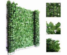 Balkonsichtschutz Buchenhecke, Windschutz Verkleidung für Terrasse Zaun ~ Variantenangebot