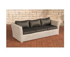 3er Sofa 3-Sitzer Sousse Poly-Rattan ~ Variantenangebot