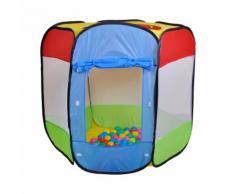 Spielzelt und Bällebad - Bendix mit 100 Bällen