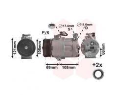Kompressor, Klimaanlage '*** IR PLUS ***' | Preishammer, Anzahl der Rillen: 5, Einlass-Ø: 17,4 mm ,Ergänzungsartikel/Ergänzende Info: mit Zubehör