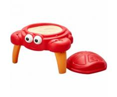 Sand-Spieltisch Crabbie, rot