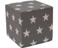 JAKO-O Sitzwürfel Sterne, grau